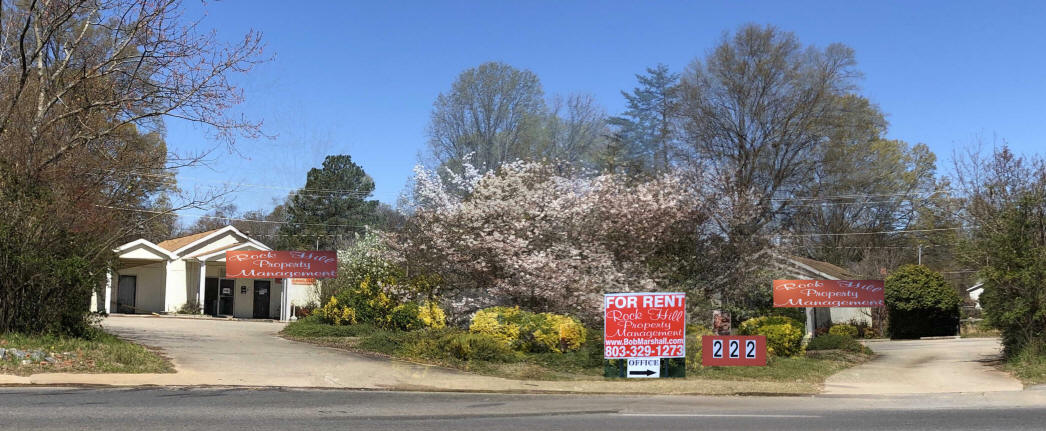 Rock Hill Property Mgmt sign, 222 S Cherry Rd, Rock Hill, SC 29732